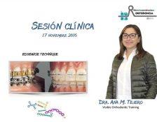 Sesión Clínica con la Dra. Ana M. Tejero